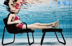 有个私人游泳池就是舒服