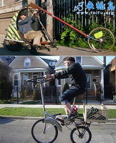你绝对没见过的自行车