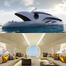 Schopfer Oculus luxury yacht