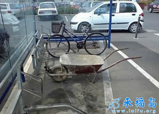 任何车辆一律按规定停车