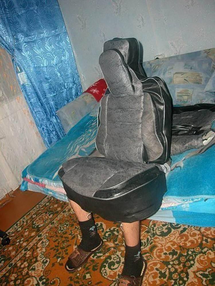 女票说这是她买的按摩椅,我怎么看着这么奇怪呢?[奇闻怪事]
