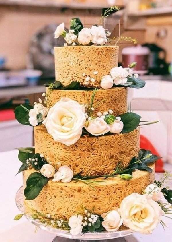 泡面蛋糕?
