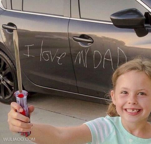 爸爸你感動不